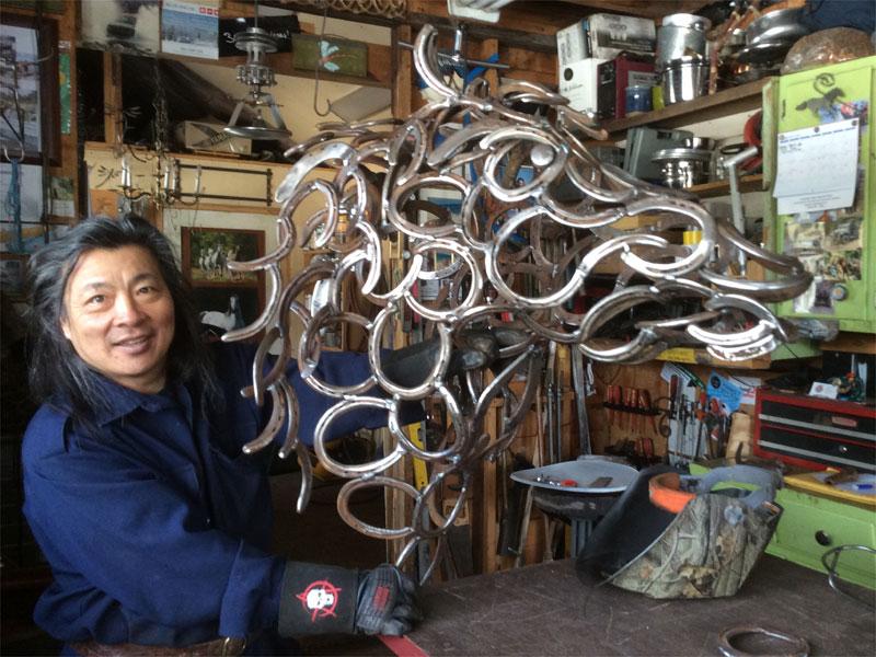 Sculpture by Mark Wong