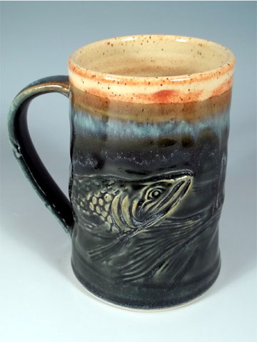 Salmon Mug by Sorrento Stoneware
