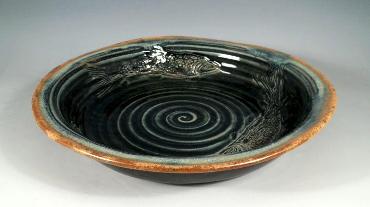 Salmon Bowl by Sorrento Stoneware